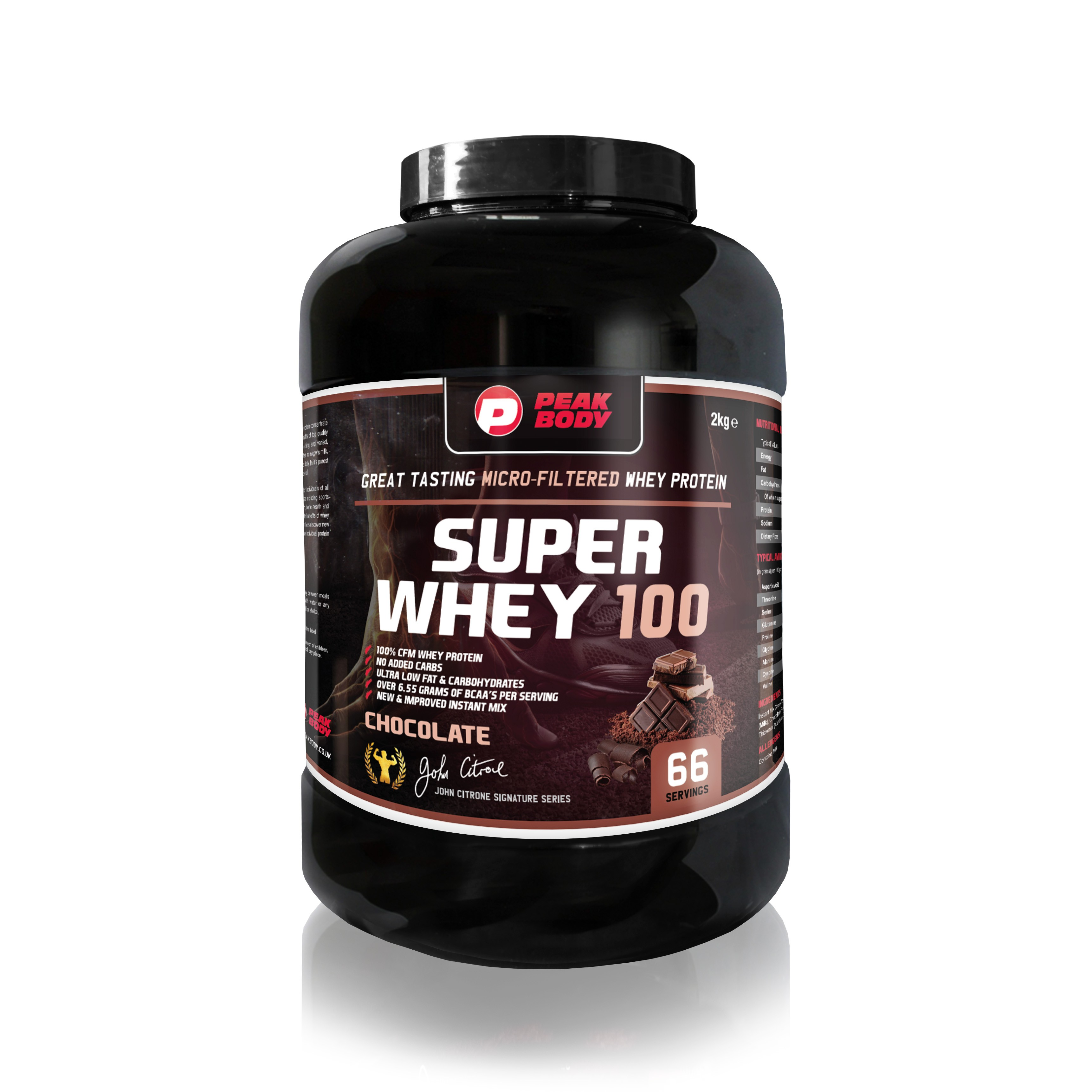 Superwhey 100: Getting the quality protein you need for maximum muscle growth.