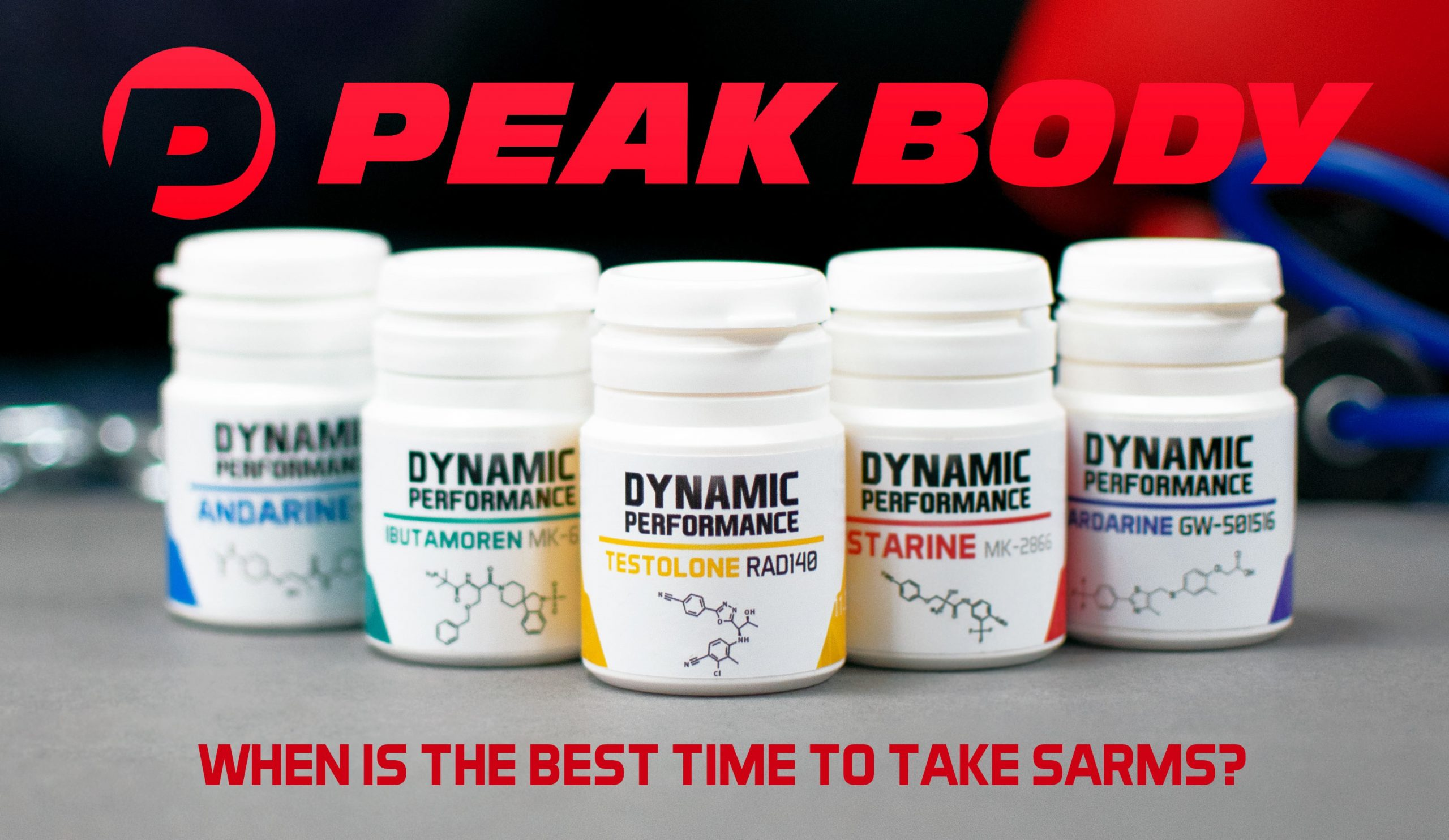 When is the best time to take SARMs?